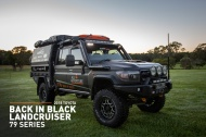 Toyota Land Cruiser 79 Back in Black