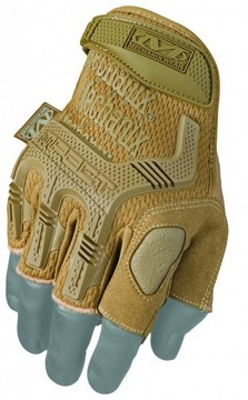MW M-Pact Fingerless Glove Coyote MD
