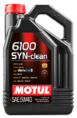 Масло моторное 5w40 син SYN-CLEAN 6100 4л